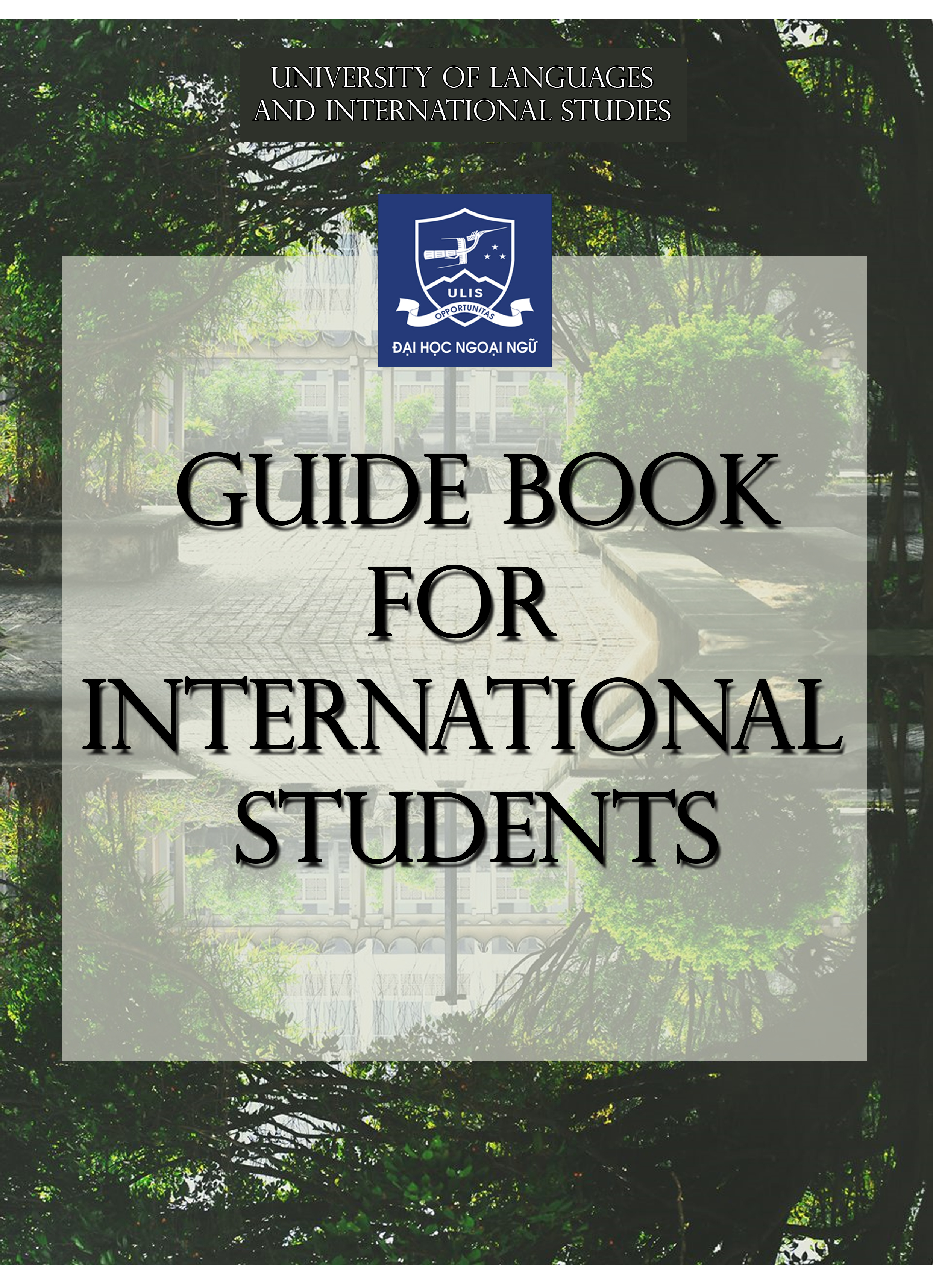 First time in Vietnam? Don't know your way around the campus or how to navigate the confusing academic procedures in a foreign environment? Then this guidebook shall help you from the steps of enrolling into courses to what meal choices available around on and around campus. Consider this book to be your constant companion when you study in ULIS-VNU